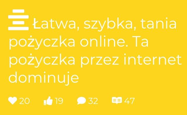 Pożyczka online bez telefonu - pożyczki przez Internet bez.